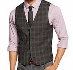 Model wearing Men's Hipster Vest
