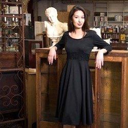 Model wearing Ava Dress