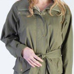 Model wearing Safari Jacket