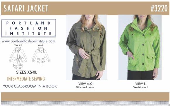 Safari Jacket Pattern Cover
